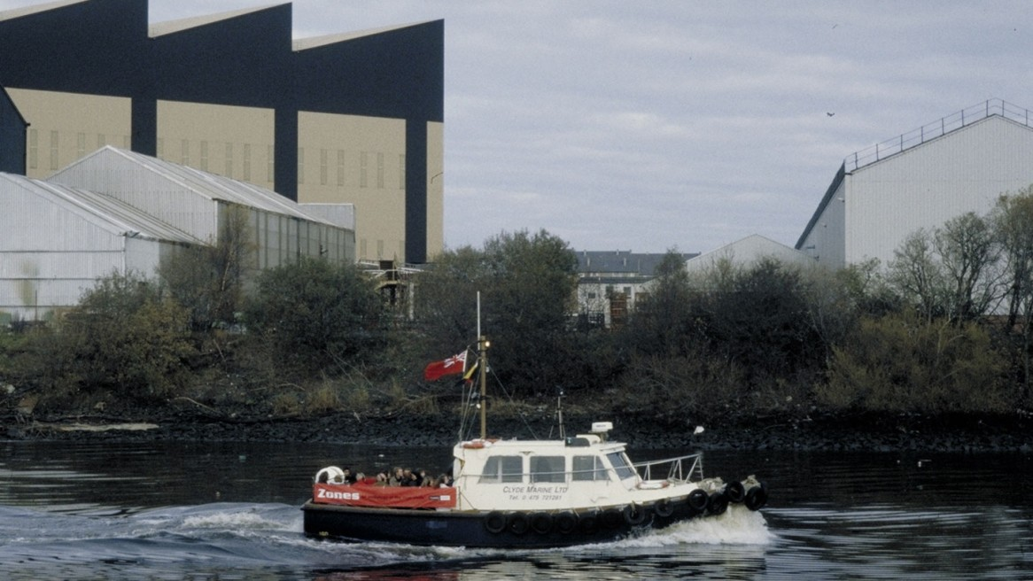 Zones – an audiology of the River Clyde (5mins, 1999)