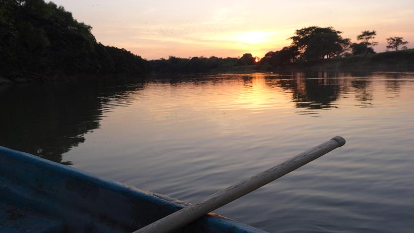 Usumacinta River, Mexico (Dusk)