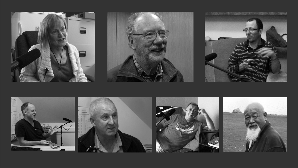 Seven interviewees from three different islands in the Firth of Clyde
